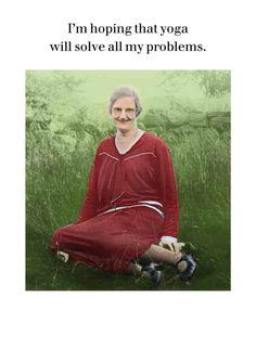 I'm hoping that yoga