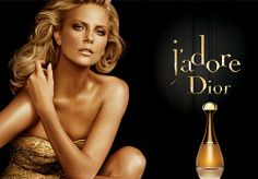 Perfume Ads: Dior J'adore and Charlize Theron