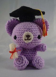 All About Ami - Crochet Corner: Graduation Teddy