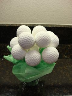 Cake Pops / Cake Balls - Golf Ball Cake Pops