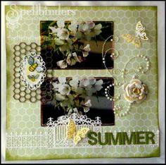 View Blog Post | Spellbinders - Summer Days