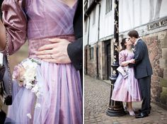 Purple and tulle
