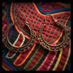 Gypsy Indian dancer earrings Beatiful gypsi Indian dancer earring hand made. ❤️boho-hippie-chic❤️ Iyari corazon Jewelry Earrings