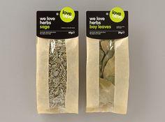 Spices packaging by genesis duncan, via Flickr