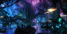 "Oh my god I want to go there!! Finally! Disney has leaked a few details about the promised ""AVATAR Land"" ride. Based on the planet ""Pandora"" from James Cameron's stunning AVATAR movie, the ride will feature strange, alien terrain in the spirit of Cameron's mind-blowing visuals. Soon enough, you'll be able to run around the floating mountains, glowing jungle foliage, and ride a […]"