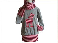 Ein ganz besonderes Langarmshirt gibt es hier für dich.    Nach dem Schnitt Lina von Frau Liebstes ist ein herrlich kuscheliges langarmshirt entstande