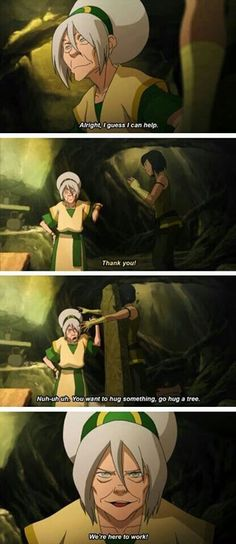 I love old lady toph: