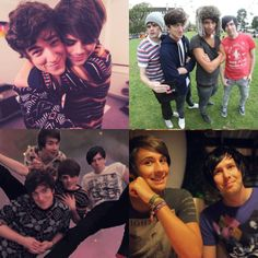 Dan Phil Peej and Chris. Best YouTubers on earth! - Fantastic Foursome