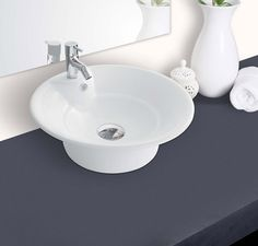 Buy Hindware Orchid Table Top Basin-91072 in Washbasins through online at NirmanKart.com