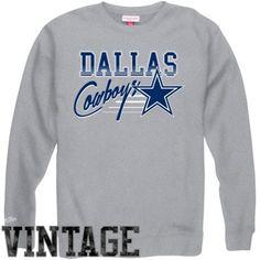 Mitchell & Ness Dallas Cowboys Training Room Sweatshirt - Ash