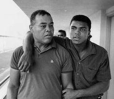 Muhammad Ali and Joe Louis.