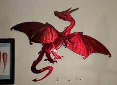 Attractive European Dragon Wall Art
