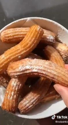 Baking Recipes, Dessert Recipes, Cookout Food, Galette, Beignets, Churros, Food Presentation, Easy Cooking, Diy Food