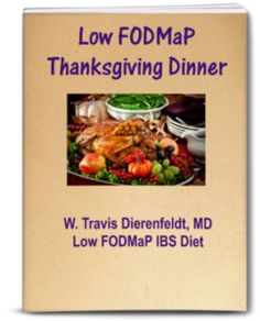 Thanksgiving Dinner for Low FODMaP Diet -