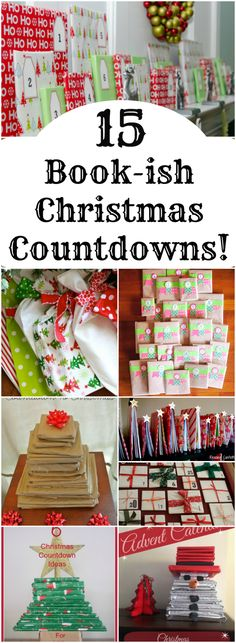 Wonderful DIY advent calendars using books! If you are looking for Christmas Countdown inspiration, take a look at these crafty ideas. Your kids will LOVE this Christmas tradition, and so will you! Advent Calendar Gifts, Christmas Countdown Calendar, Advent Calenders, Kids Calendar, Calendar Ideas, Christmas Books, Christmas Love, All Things Christmas, Christmas Holidays