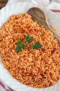 This Mexican Rice recipe is so good and so easy, you'll forget that you're not eating at an authentic Mexican restaurant.