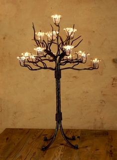 Glamorous candelabra ideabook