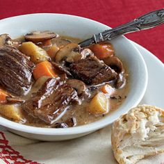Belgian Beef and Beer Stew - Holidays
