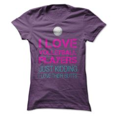 I love volleyball players T-Shirts, Hoodies (19$ ==► Shopping Now!)