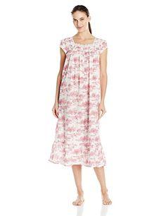 Eileen West Women's Eileen West 100 Percent Cotton Lawn Cap Sleeve Sleep Gown, Red Print, X-Large Eileen West http://www.amazon.com/dp/B011D2CNJO/ref=cm_sw_r_pi_dp_H3Xzwb0BRM5PC