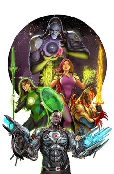 Justice League Odyssey #1 cover by Stjepan Sejic.