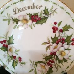 Vintage Royal Albert Flowers of the Month by Chintzyvintage