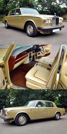 Vintage Cars Classic 1981 - Rolls Royce Silver Shadow 2 - 6000 ml. Bentley Rolls Royce, Rolls Royce Cars, Retro Cars, Vintage Cars, Vintage Room, Vintage Models, Rolls Royce Silver Shadow, Best Classic Cars, Expensive Cars