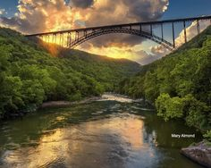 New River Gorge in West Virginia by The Merry Cat