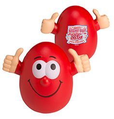 Choose this Smilin' Stress Reliever and your customers will be giving your brand a big thumbs up!