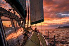 sailing into the night by Jørn Allan Pedersen best on black Jørn Allan Pedersen: Photos #nature #photography