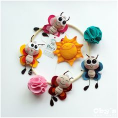 Butterfly Mobile - Baby mobile - Handmade