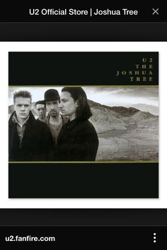 "U2 "" the Joshua tree"", 1987"
