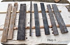 How to age wood...simplyswider.com