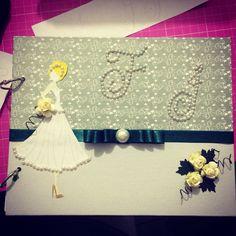 Caderno/Agenda de noiva !!! #primadolls #scrapbook #scrap #wedding