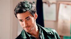 #OUAT #Hook #Killian.... that smirk and those eyes....