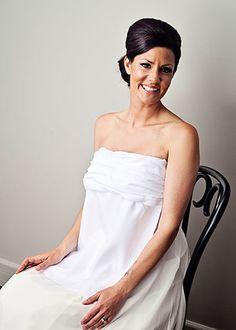 Lynn - STYLISH strapless bridal bib with ruching Read More →