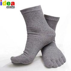 Men's Five Finger Sheer Socks     #awesome