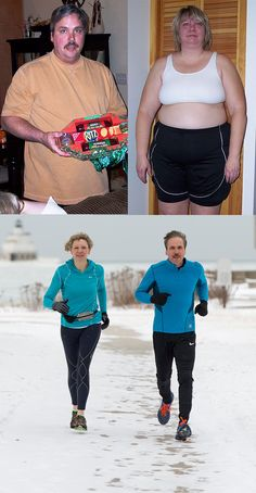 Before & After: Husband and Wife's Inspirational Fitness Transformation Story