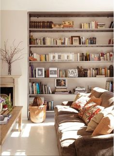 decoration avec du livres