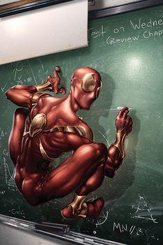 Iron Spider by Clayton Crain