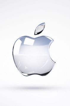 Apple Glass Logo iPhone Wallpaper By TipTechNews.com