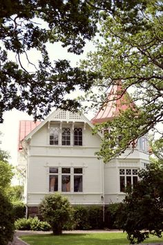 "Swedish house with ""turret"""