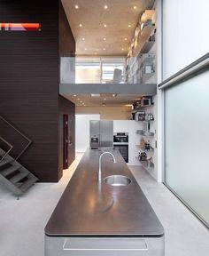 kitchen, urban home