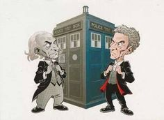 """""""The old and the new... #DoctorWho"""""""