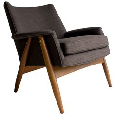Milo Baughman; Lounge Chair for James Inc., 1950s.
