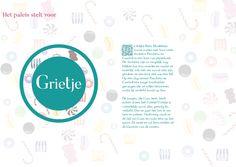 Voorbeeld flyer snoepjes design voorkant