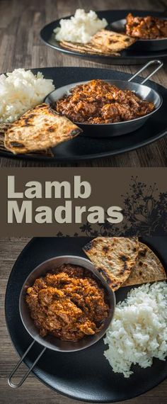 Lamb Madras Curry Fakeaway Recipe: A Madras Curry in the UK has become synonymous with a fiercely hot curry and not much else, my version has more complex flavours but still with a punch of heat from chili and pepper and a real tasty dinner. Yummy Recipes, Indian Food Recipes, Asian Recipes, Cooking Recipes, Recipies, Rice Recipes, Cooking Tips, Lamb Madras, Madras Curry