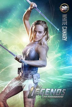 "Caity Lotz as Sara Lance / White Canary: Initially known as the vigilante the ""Canary"" in Arrow season two, she was later killed in season three. She now takes on the alias of White Canary, after being resurrected by the Lazarus Pit in the fourth season of Arrow.The character is partially based on the DC Comics character, Black Canary"