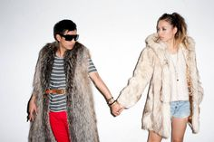 Friends of Kanon @Rumi Neely and bryanboy captured by Terry Richardson.