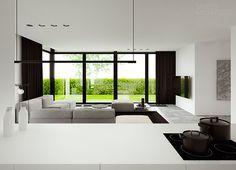 Single family house interior design, Pabianice | TAMIZO ARCHITECTS
